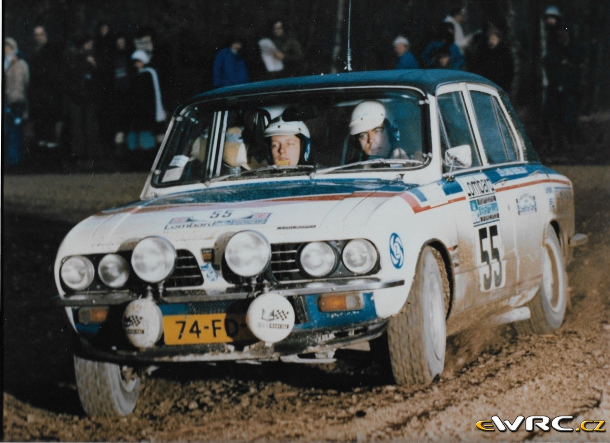 Stage Results Lombard Rac Rally 1975