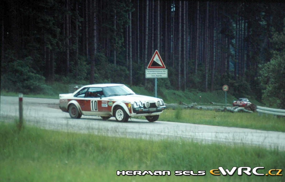 Klaus Fritzinger Rainer Wehner Toyota Celica 2000 Gt