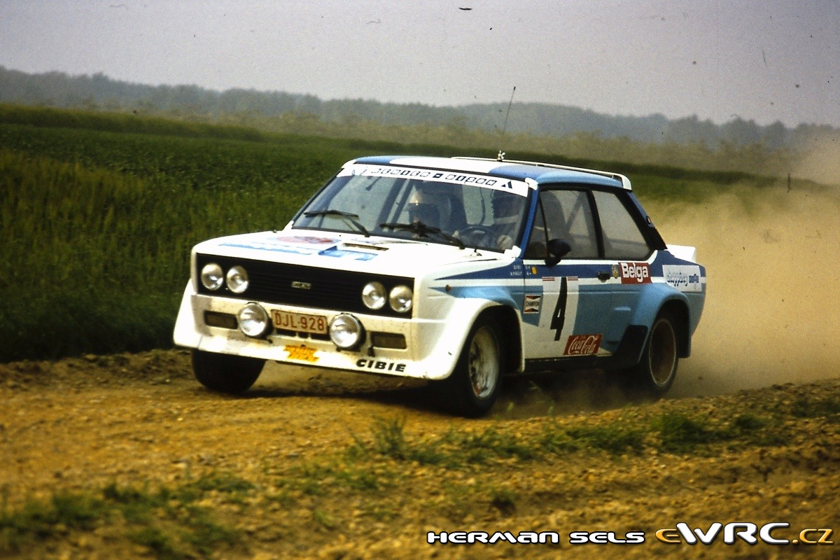Jean Marie Cols Andr 233 Pauly Fiat 131 Abarth