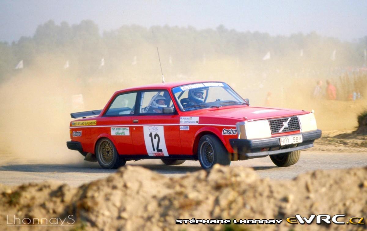Berndt Inge Steffansson Matti Hakala Volvo 240 Turbo