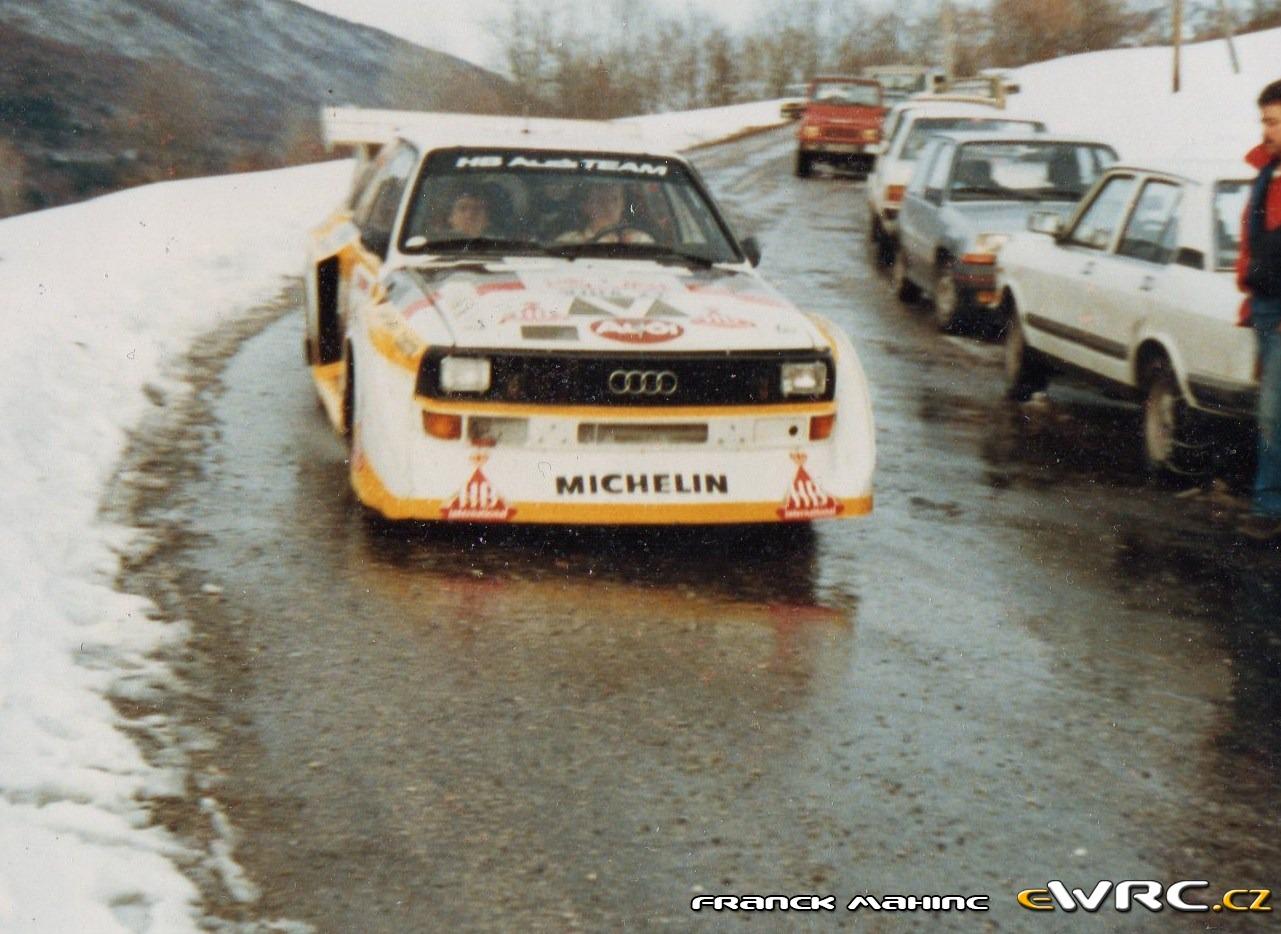 Walter R 246 Hrl Christian Geistd 246 Rfer Audi Quattro Sport