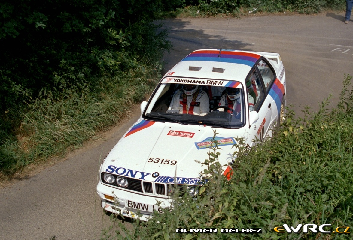 John Bosch Kevin Gormley Bmw M3 Ypres 24 Hours Rally