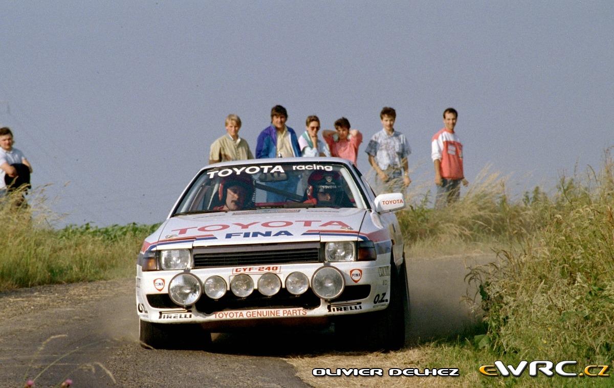Renaud Verreydt Georges Biar Toyota Celica Gt 4 St165