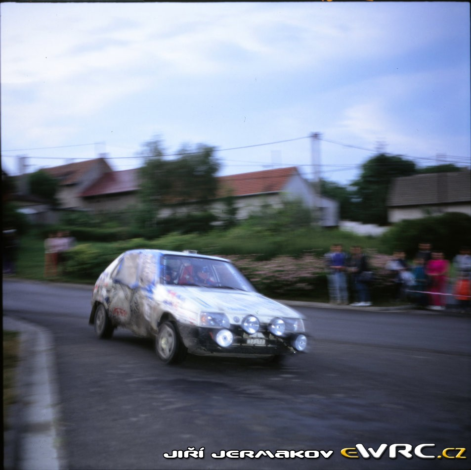 Barum Rally: Final Results Barum Rallye 1992