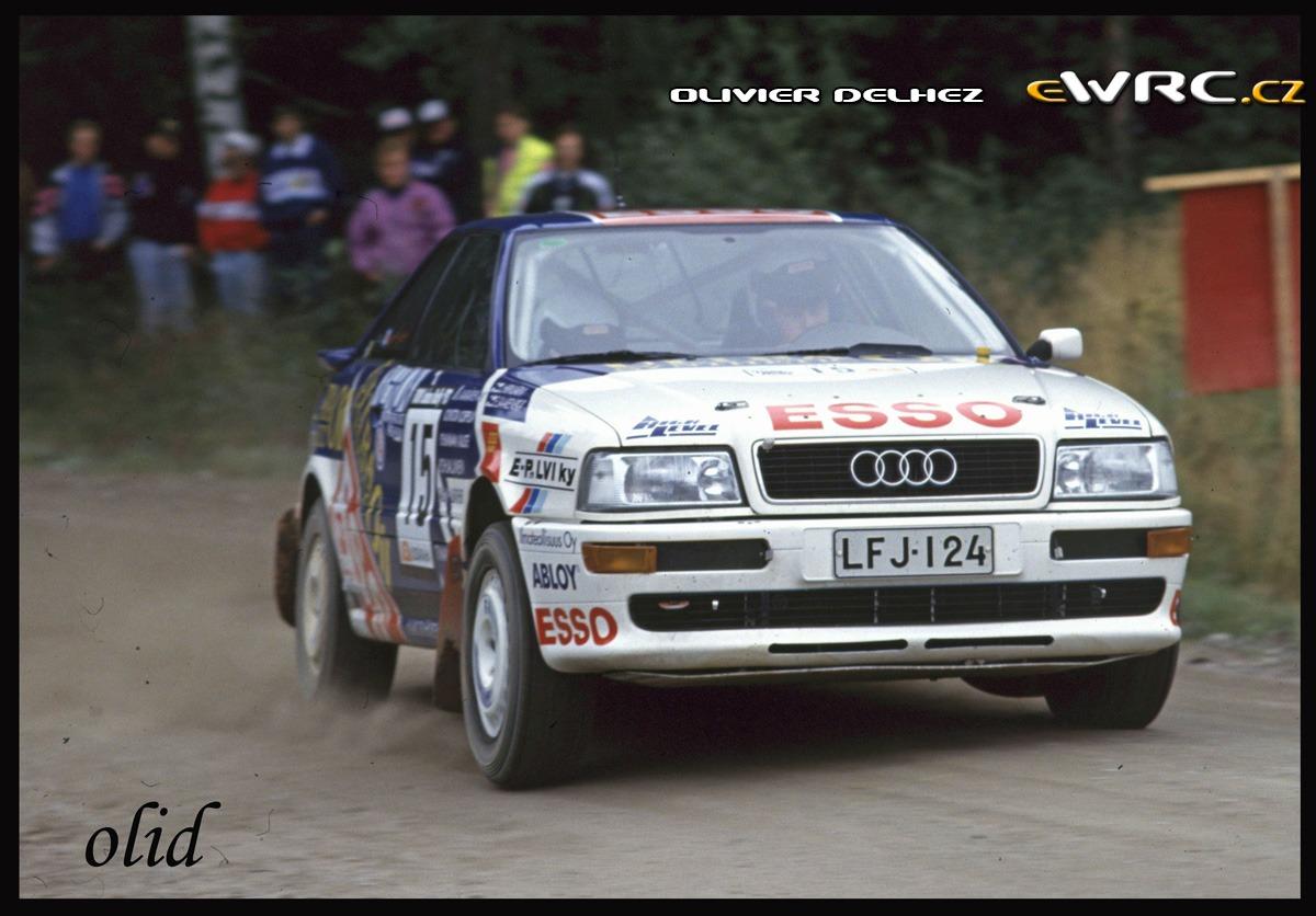 Esa Saarenp 228 228 Lasse Hirvij 228 Rvi Audi Coup 233 S2