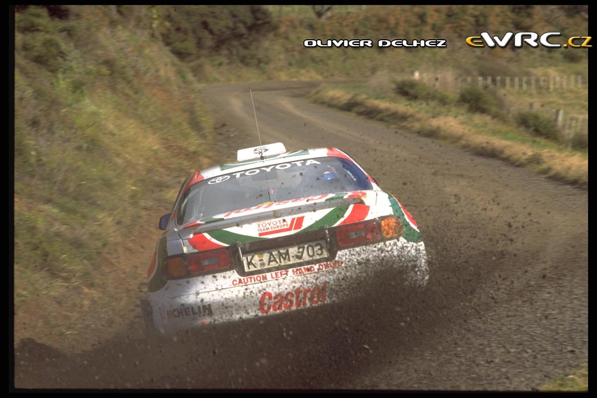 Didier Auriol Bernard Occelli Toyota Celica Turbo 4wd