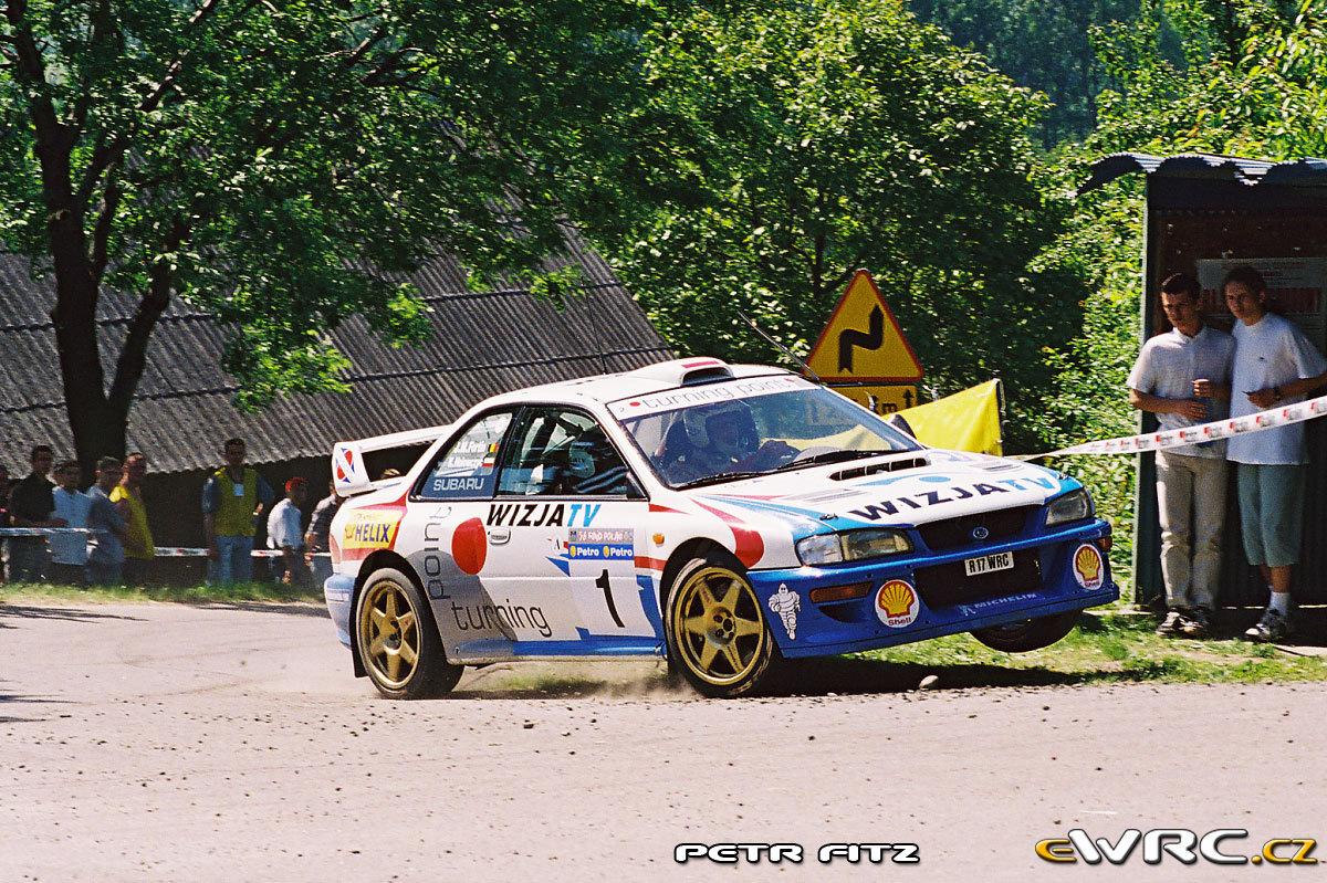 Krzysztof Hołowczyc Jean Marc Fortin Subaru Impreza S4