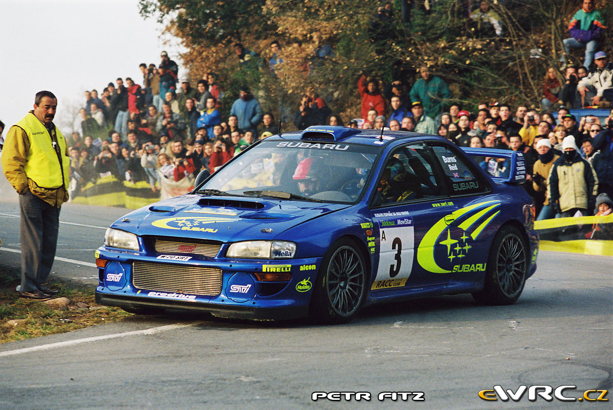 Subaru Rally Car >> Richard Burns − Robert Reid − Subaru Impreza S6 WRC '00