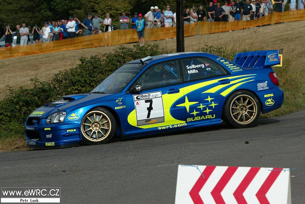 Petter Solberg − Phil Mills − Subaru Impreza S9 WRC '03 − ADAC ...