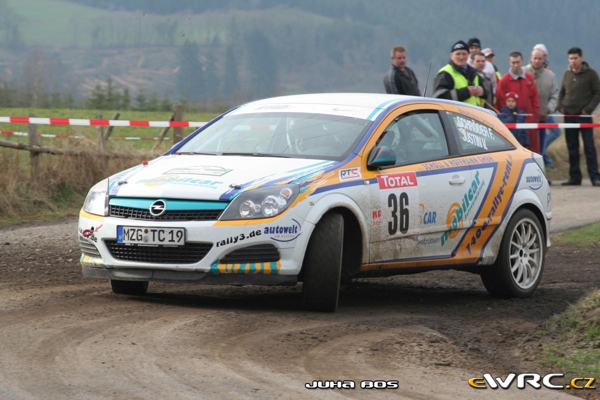 Frank Schroder Vincent Justin Opel Astra Gtc Cdti East Belgian Rally 2008