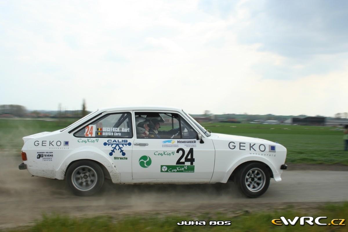 Chris Debyser Kurt Declerck Ford Escort Rs 1800 Mkii