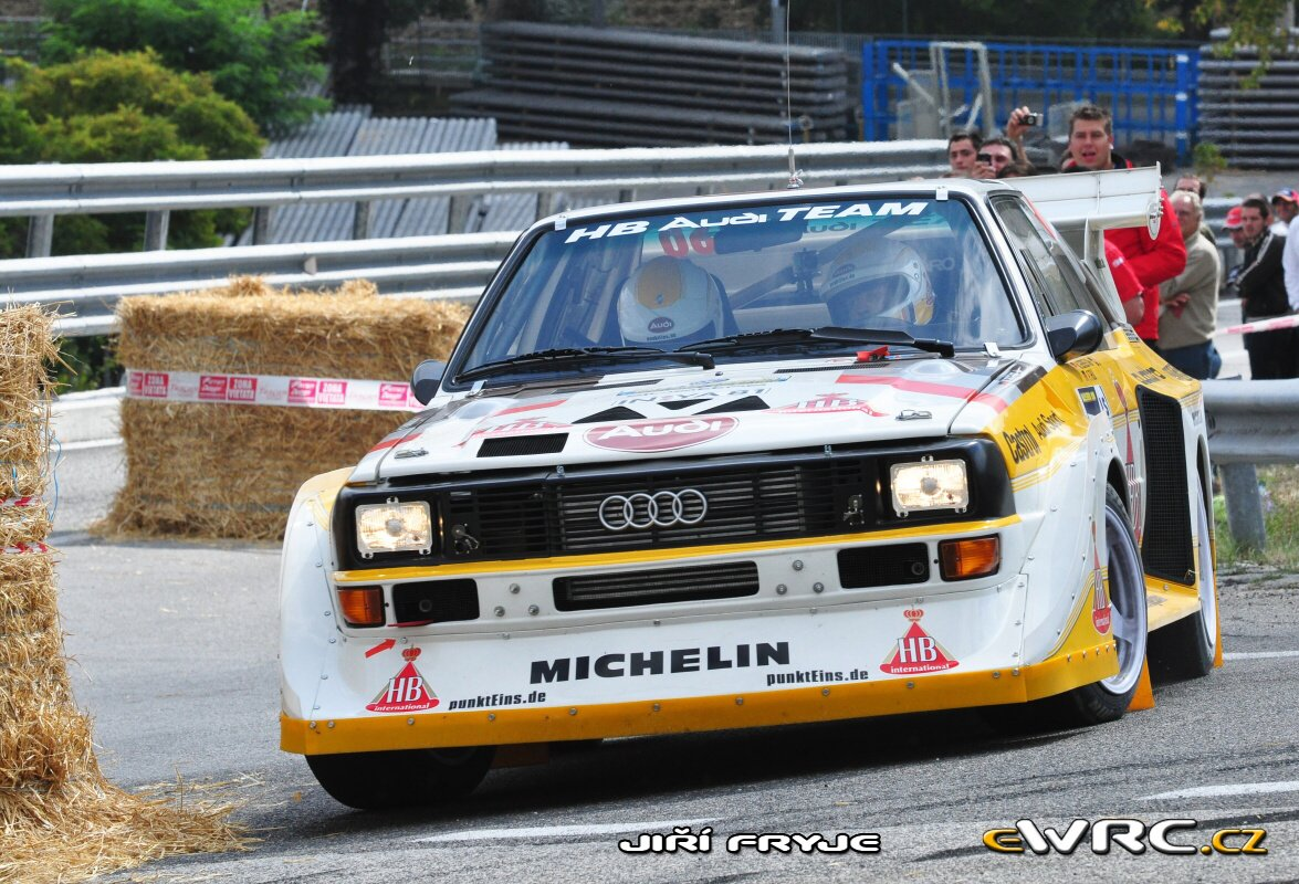 Michael Gerber Peter Thul Audi Quattro Sport E2