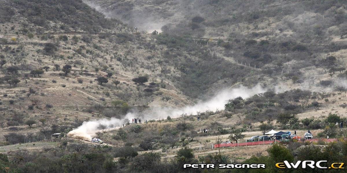 Atmosphäre der Rallye Mexiko