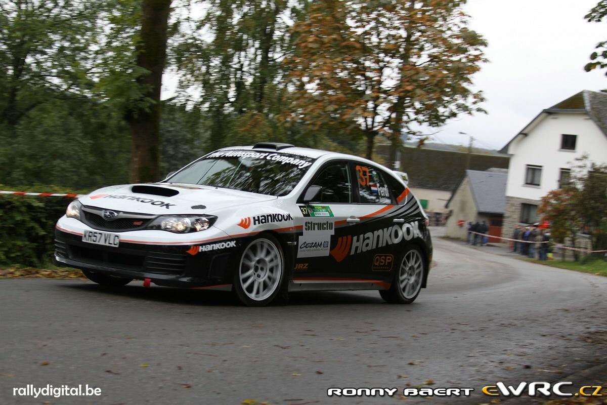 Ferdi Biesheuvel − Marco Schillemans − Subaru Impreza STi N15 ...