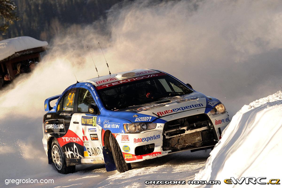 Las mejores imágenes del Rally de Suecia + INFO.