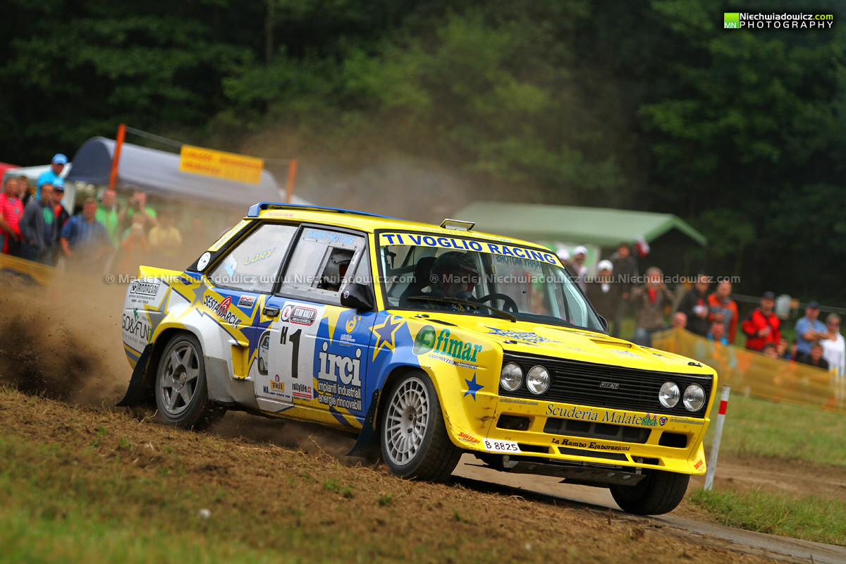 Paolo Diana Fiat 131 Abarth Barum Czech Rally Zl 237 N 2012