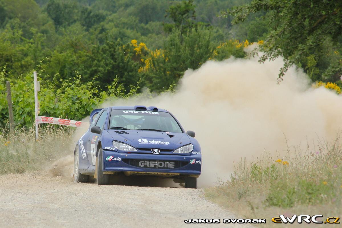 Alessandro Taddei − Mauro Marchiori − Peugeot 206 WRC ...