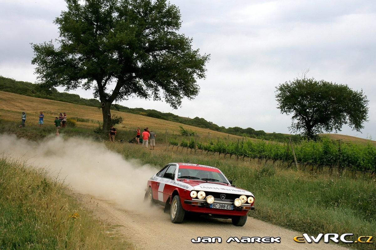 Lancia Beta Coupé − Tuscan Rewind - Moderno 2012