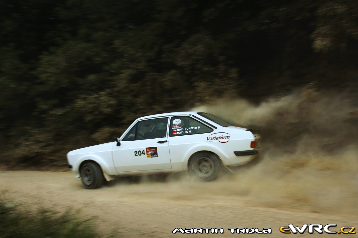 Markus Nothdurfter − Michael Mathes − Ford Escort RS 2000 ...