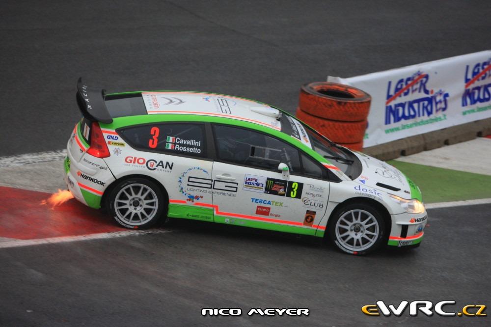Tobia Cavallini − Andrea Rossetto − Citroën C4 WRC − Monza ...