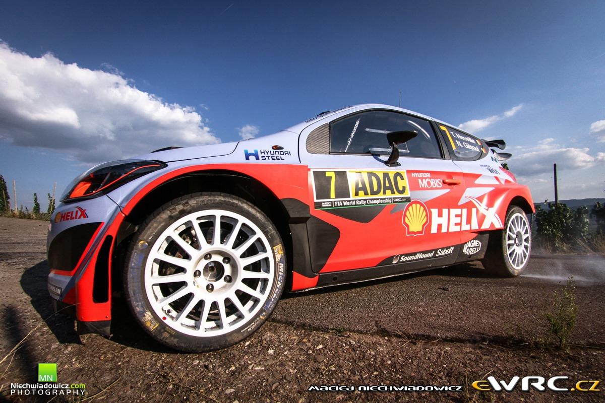 Thierry Neuville Nicolas Gilsoul Hyundai I20 Wrc