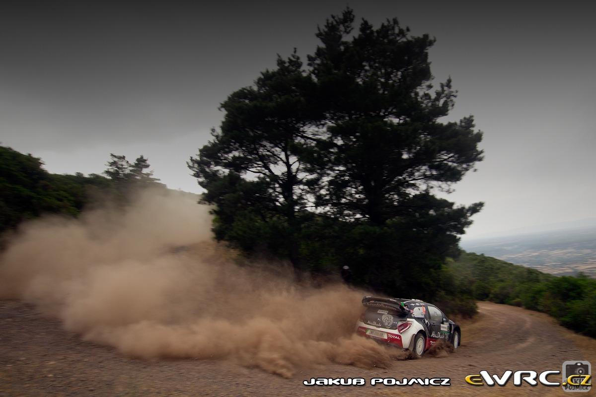 Mads Østberg − Jonas Andersson − Citroën DS3 WRC − Rally ...