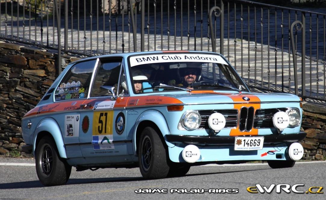 Bmw 2002 Tii Touring Rally Internacional De Andorra Historic 2016