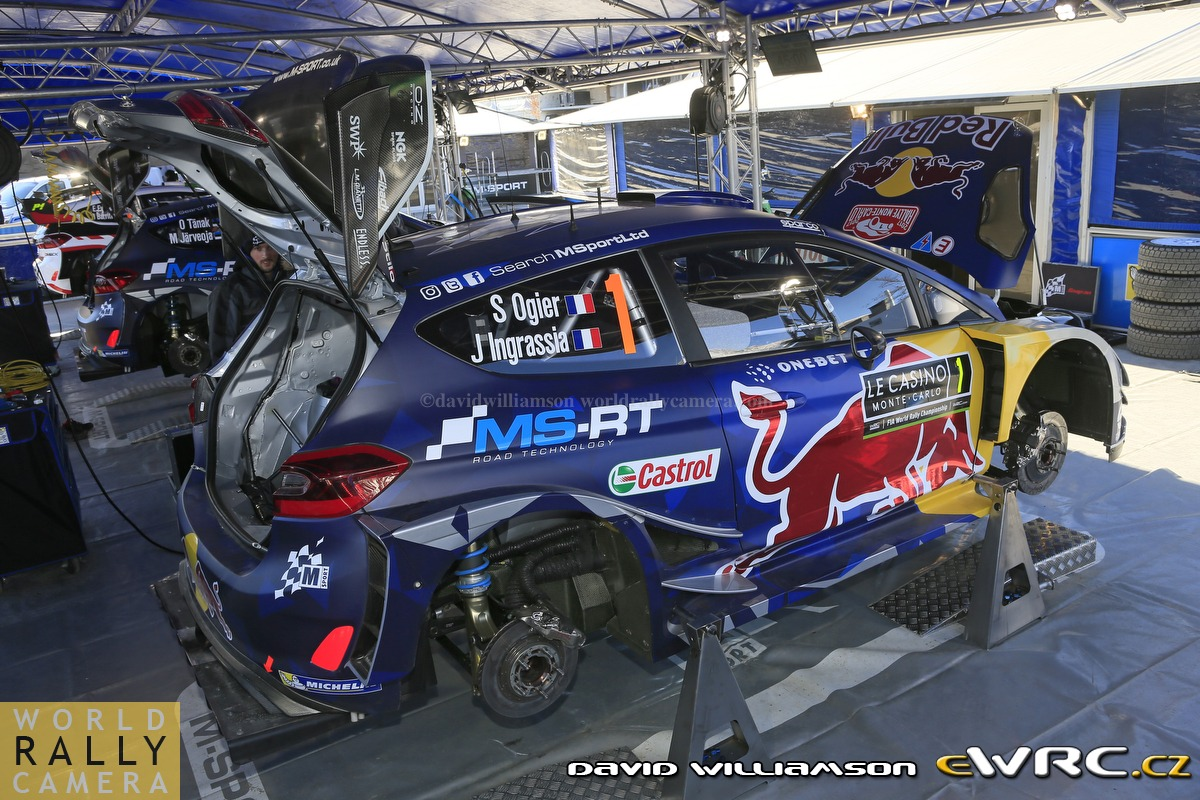Sébastien Ogier − Julien Ingrassia − Ford Fiesta WRC ...