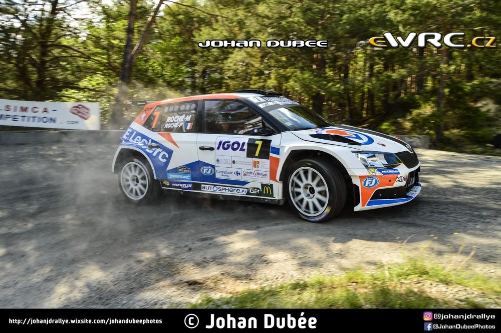 Pierre roch martine roch koda fabia r5 rallye d - Rallye d antibes 2017 ...