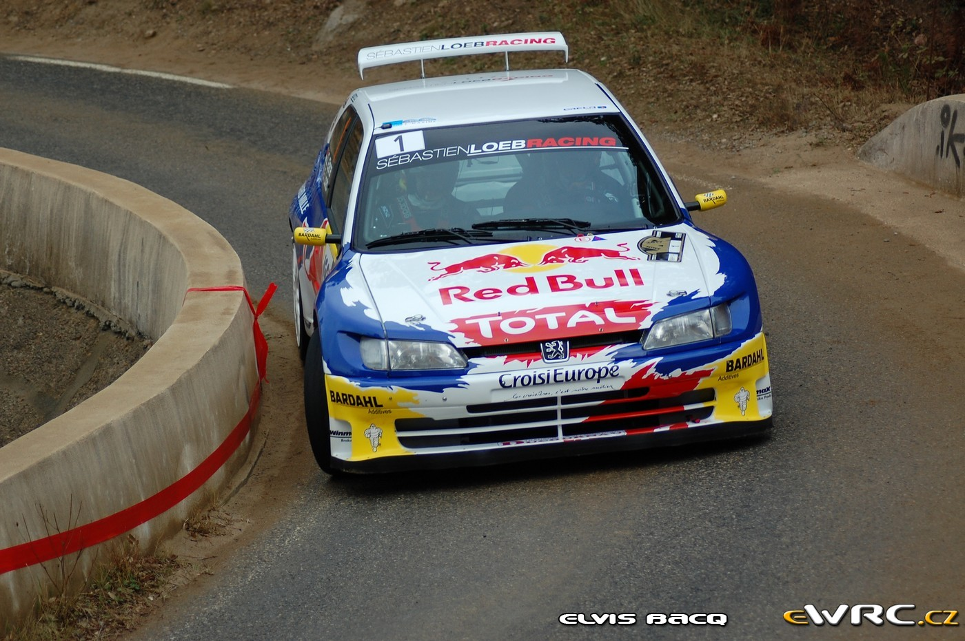 s bastien loeb daniel elena peugeot 306 maxi rallye du var 2017. Black Bedroom Furniture Sets. Home Design Ideas