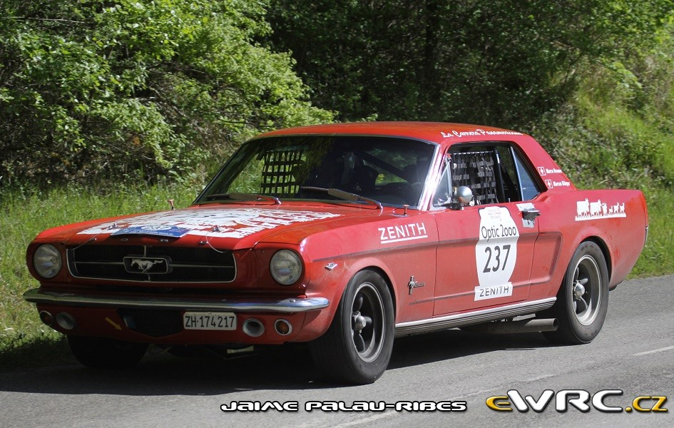 Marco Brunner − Marcus Eilinger − Ford Mustang 289 − Tour Auto ...
