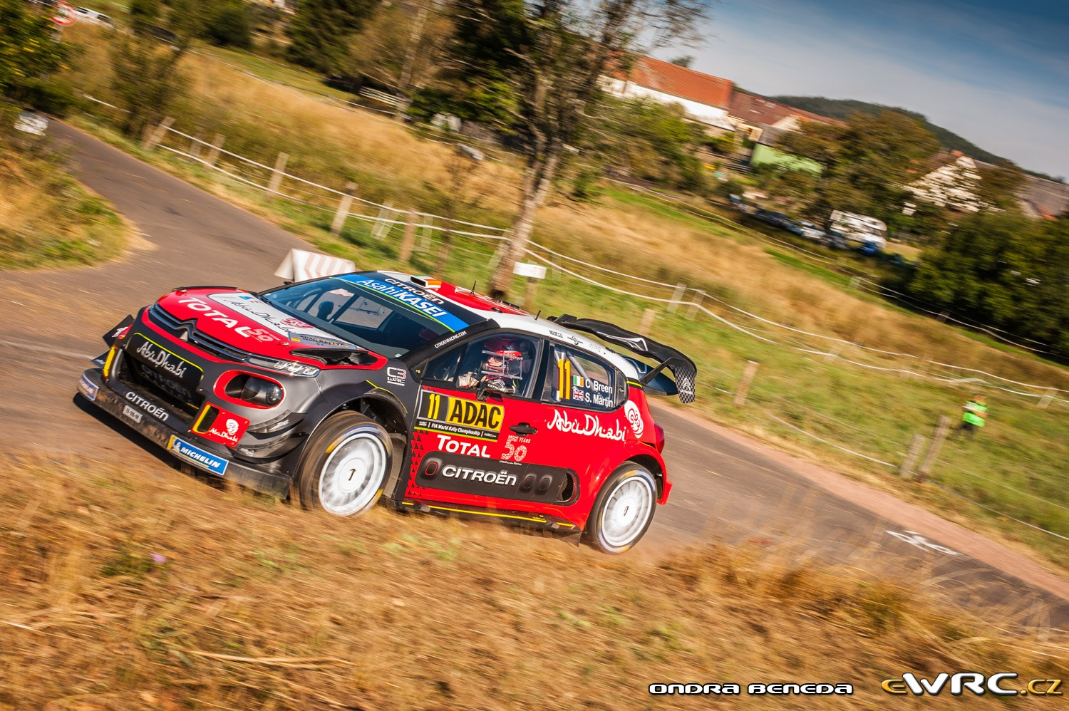 craig breen scott martin citro n c3 wrc adac rallye deutschland 2018. Black Bedroom Furniture Sets. Home Design Ideas