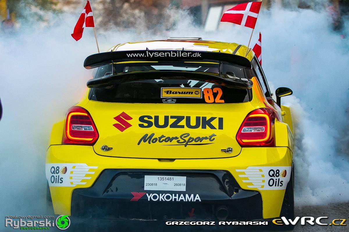 Kenneth Madsen / Mette Felthaus - Suzuki Swift Maxi 2000 Evo