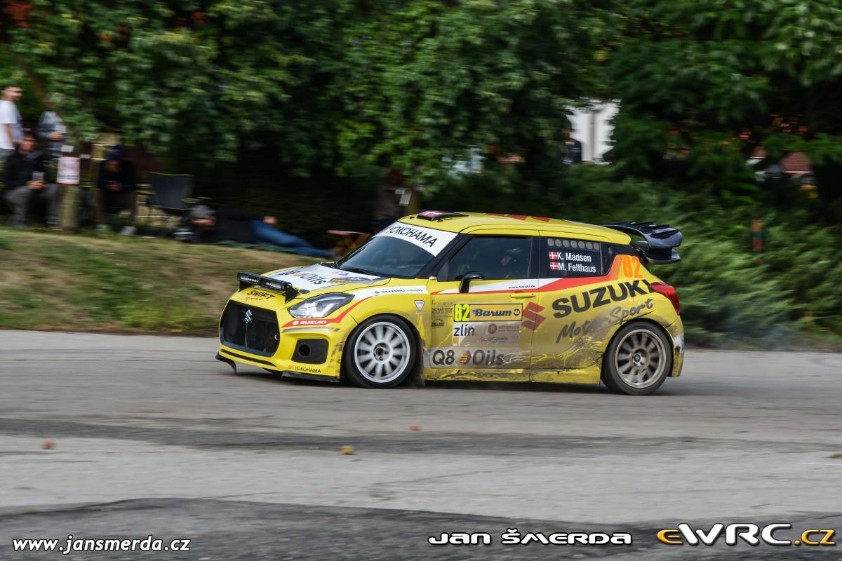 Suzuki Swift 2018 >> Kenneth Madsen − Mette Felthaus − Suzuki Swift Maxi 2000 Evo − Barum Czech Rally Zlín 2018